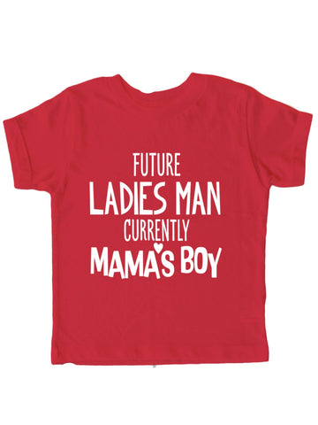 Future Ladies' Man -Boys Valentines Day Shirt