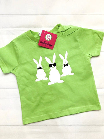 Toddler Bunny Shirt |Easter outfit for boy  girl
