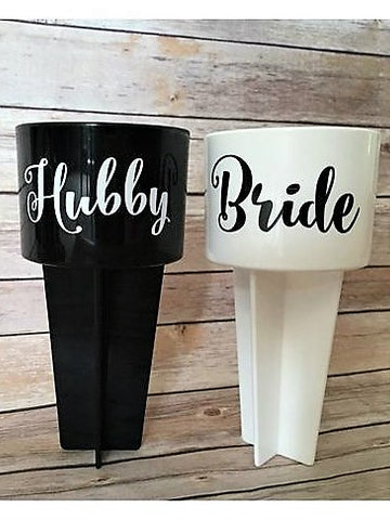 hubby bride | beach cup holder