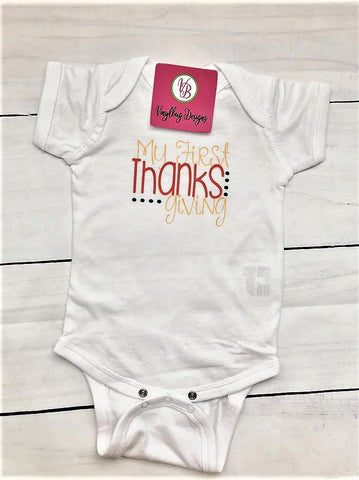 baby's first Thanksgiving| Infant Thanksgiving outfit