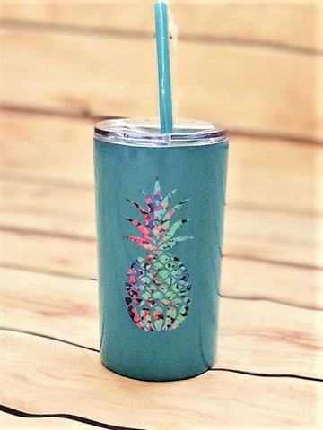 Pineapple tumbler | stainless steel kid cups