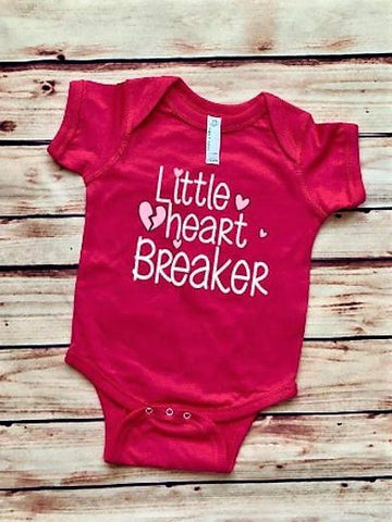 Little Heart Breaker Baby Outfit