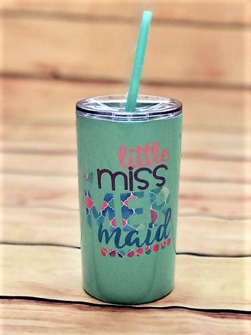 mermaid tumbler | stainless steel kids cup| Mermaid gift ideas for girls