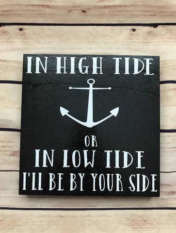 Nautical marriage sign | wedding gift