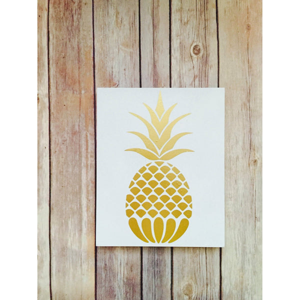 Pinneapple  sign