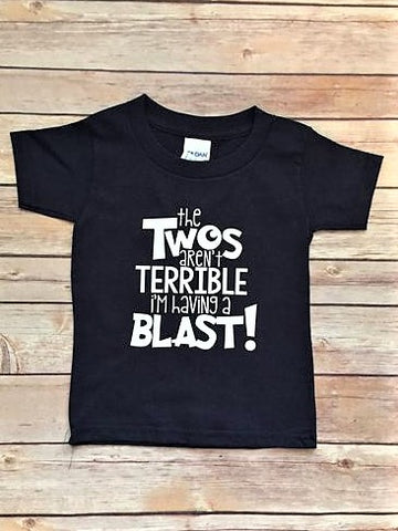 Terrible Two's - T-Shirt | Turning two Shirt