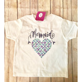 Toddler Mermaid shirt-[product_collection]-Vinylbug Designs