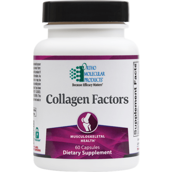 Collagen Factors 60ct - Ortho Molecular Products - ePothex