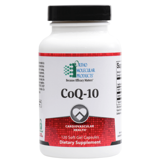 CoQ-10 100mg - 120ct - Ortho Molecular Products - ePothex