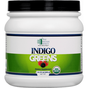 Indigo Greens Powder (1lb) 60 servings - Ortho Molecular Products - ePothex