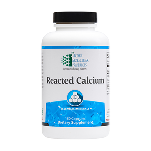 Reacted Calcium 180ct - Ortho Molecular Products - ePothex