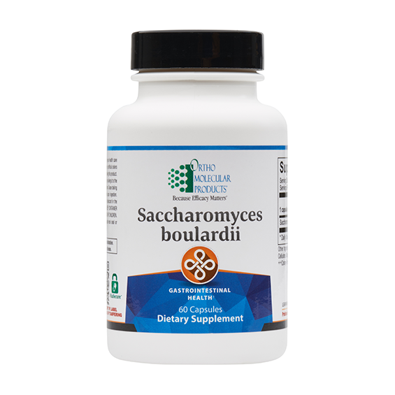 Saccharomyces Boulardii 60ct - Ortho Molecular Products - ePothex