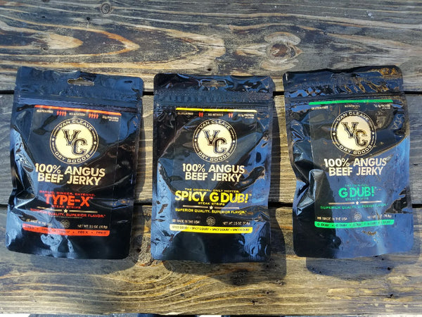 Three Flavor Sampler. 3 Pack Subscription.