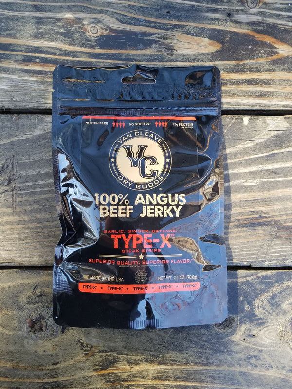Type-X Angus Steak Strips. 4 Pack Subscription.