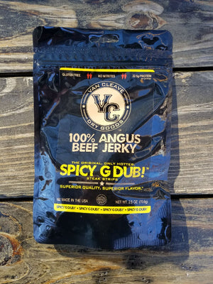 Spicy G Dub! Angus Steak Strips. 6 Pack Subscription.