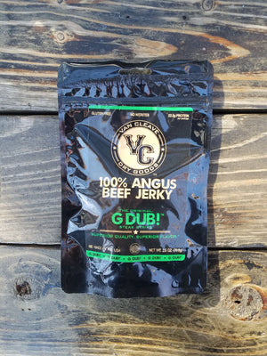 G Dub! Angus Steak Strips. 4 Pack Subscription.
