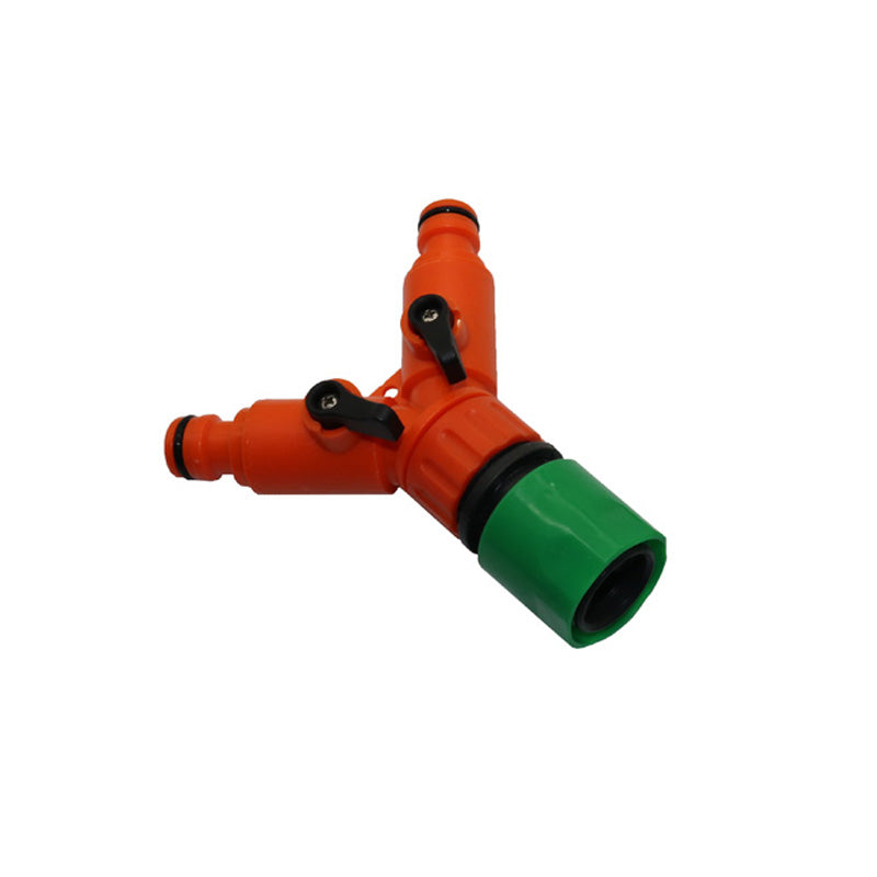 1 sets 1pcs G 3/4 '' Bypass Connectors With Quick Connector Garden irrigation Drip Supplies