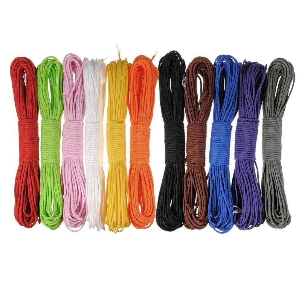 100FT Paracord 550 Parachute Cord Lanyard Rope 31M Type III 7 Strand Camping Climbing Survival Equipment Rope Outdoor Hiking Kit