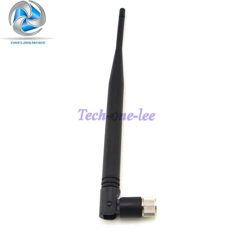 1 piece 5 dbi 433Mhz GSM Antenna SMA Male Connector Rubber Aerial Wireless Repeater Free Shipping
