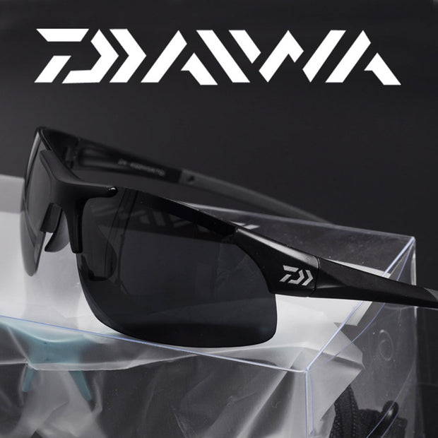 Daiwa outdoor Sport Fishing Sunglasses fit over glasses sunglasses Fishing Climbing Sun Glasses with pescaResin lenses Polarized