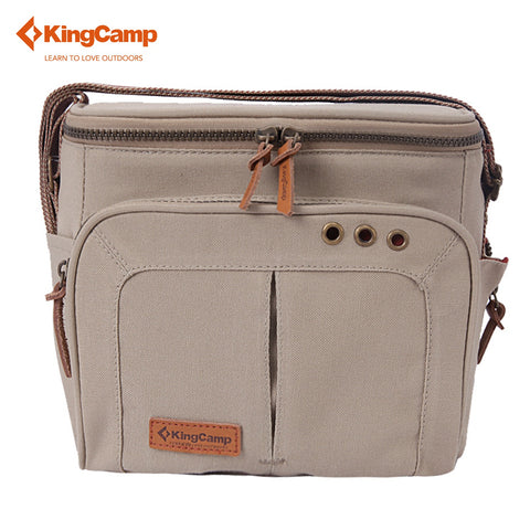KingCamp 22*13*20cm Portable Picnic Bag for Camping Tableware Storage Outdoor Cooler Bag for Lunch Picnic set