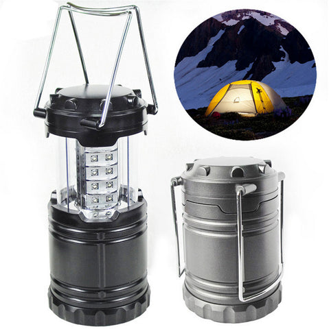 30 LED Camping Lantern Multifunction Outdoor Portable Lantern for tourist tent Mini headlight Emergency Lamp Torch LED flshLight