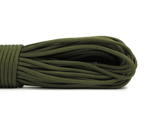 100 feet/ 31 meter 9 strands Paracord 550 IB Rope Cuerda Escalada Mil Spec Type  Outdoor Camping Survival tent Equipment