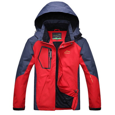 Mountainskin 5XL Men's Winter Fleece Softshell Jackets Outdoor Sports Waterproof Coats Hiking Camping Trekking Male Jacket RM019