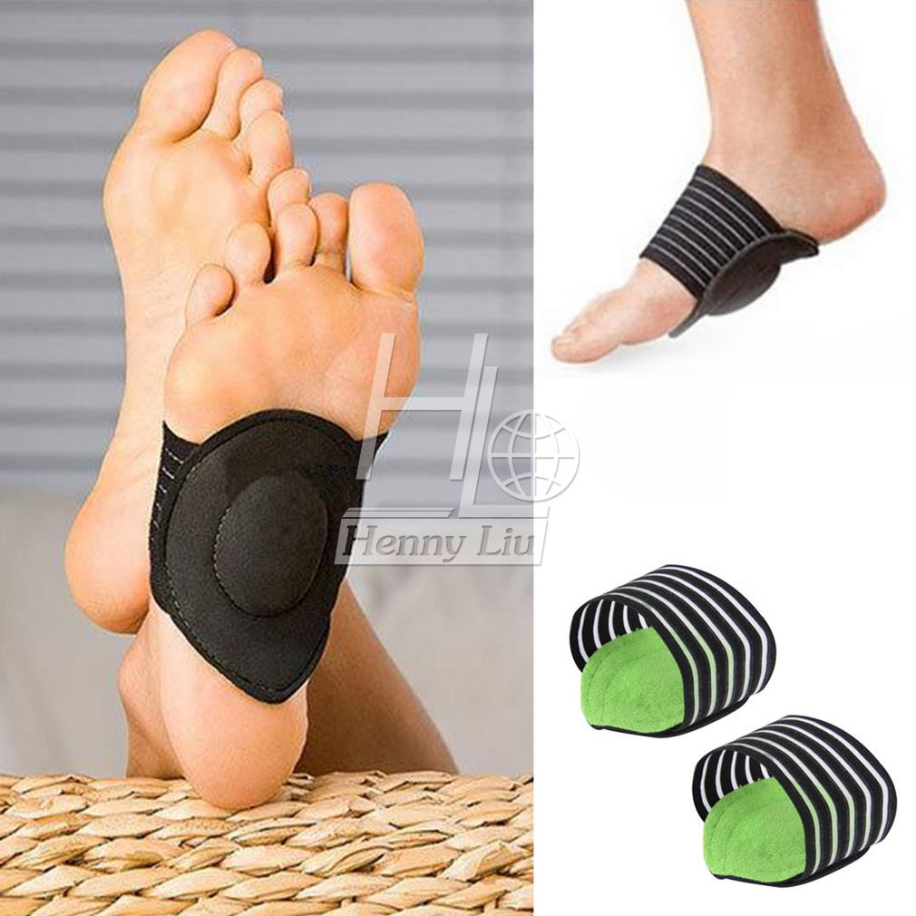New Absorb Shocking Foot pad Arch Support Plantar Fasciitis Heel Pain Aid Feet Cushioned Health Feet Protect Care Pain Arch