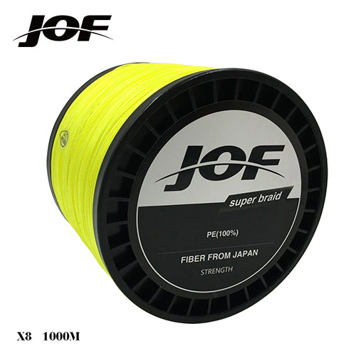 1000m 8 strands Green/Yellow/Gray PE Braided Fishing Line Fishing Tackle lure  15LB 20lB 30LB 40LB 50LB 60LB 80LB