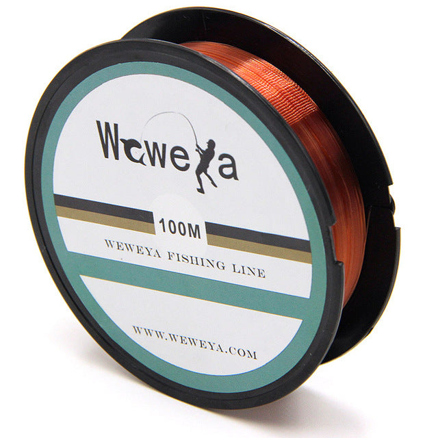 100M Fishing Line Strong Fluorocarbon Fishing Lines Monofilament Nylon Freshwater Saltwater Sink Fish line Accessories