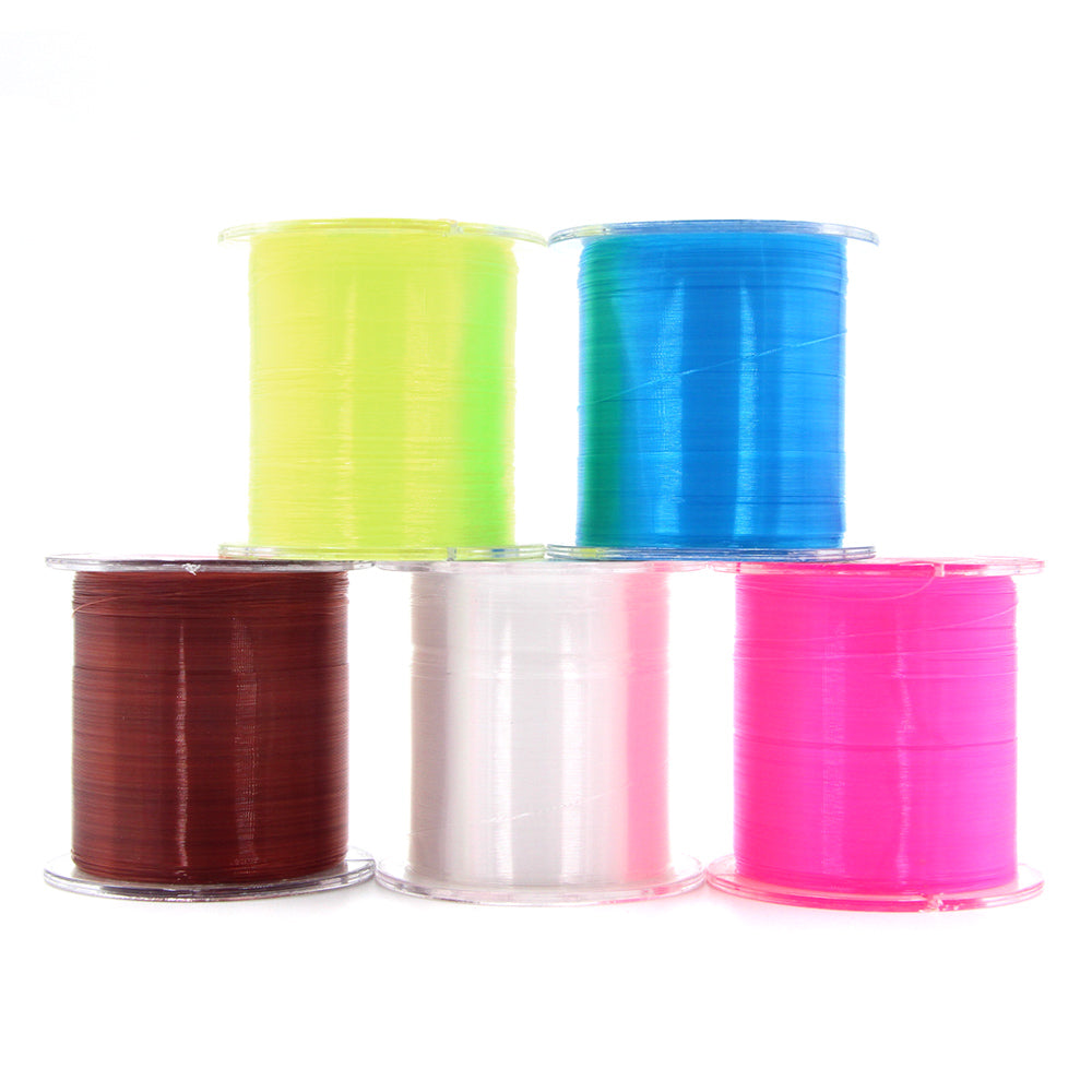 500M Fishing Line Strong Fluorocarbon Fishing Lines Monofilament Nylon Freshwater Saltwater Sink Fish line Accessories