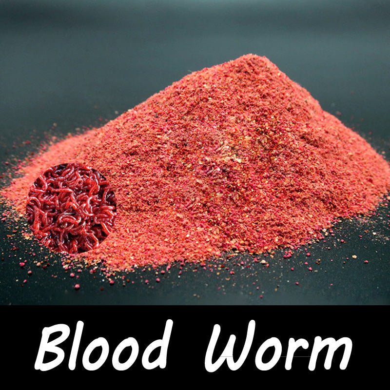 1 Bag 40g Blood Worm Flavor Additive Carp Fishing Feeder Bait Boillie Making Material