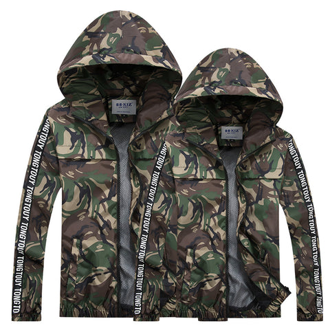 AAPE Summer Clothing Camouflage Jacket Sunscreen Clothes for Mens Speed Drying Outdoor Fishing Camping Hiking Jacket
