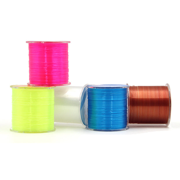 Leo 2017 500m Nylon Fishing Line All Size Durable Monofilament Rock Sea Fishing Line Thread Bulk Spool