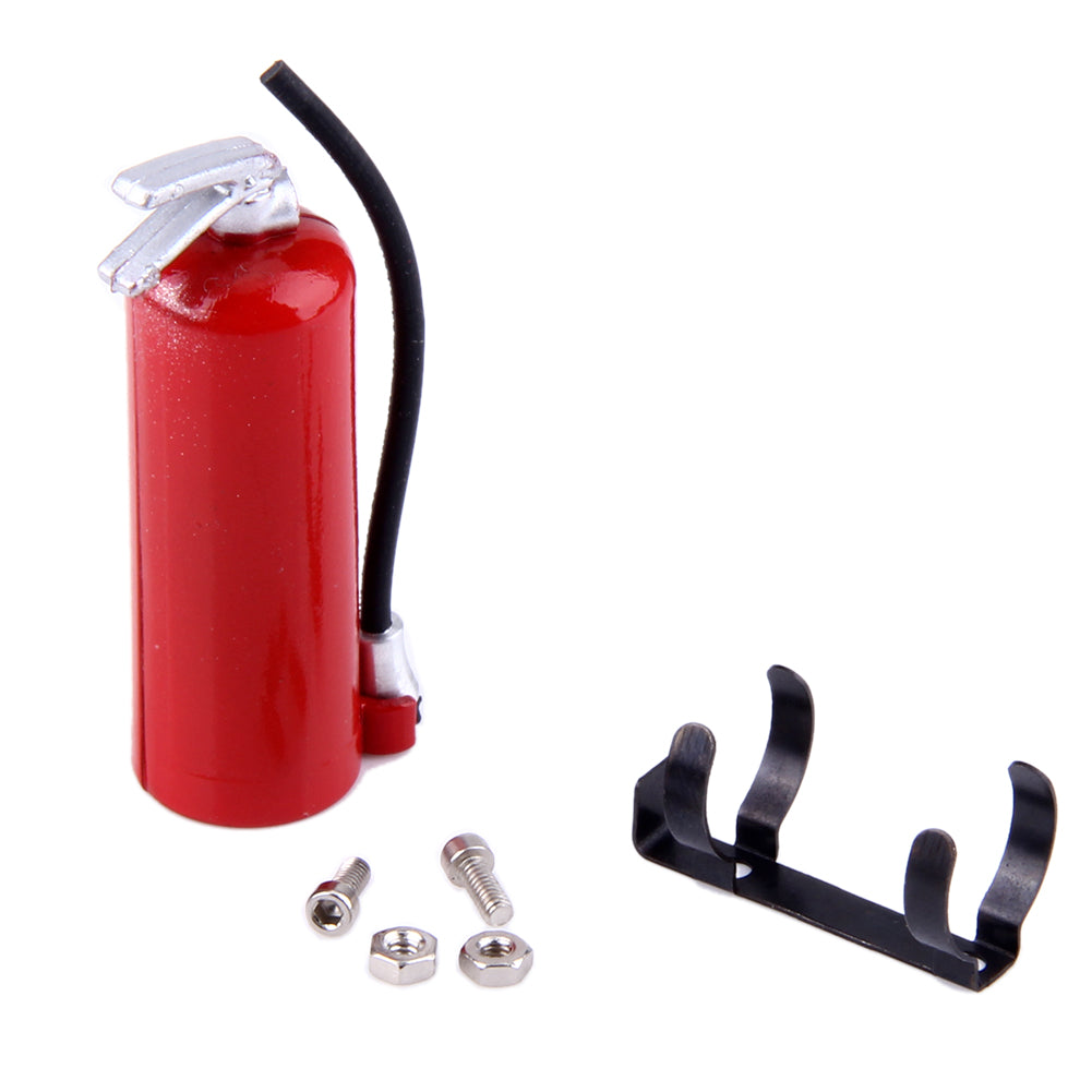 1:10 RC Rock Crawler Accessories Fire extinguisher for Axial Wraith SCX10 90046 TAMIYA CC01 RC4WD D90 D110 RC Truck Car Parts