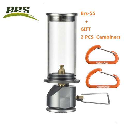 BRS brs-55 Gas Camping Lantern Camp Equipment Gas Candle Lights Lamp for Ourdoor Tent  Hiking Emergencies