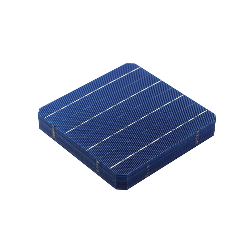 100 Pcs Solar Cells Panel Mono Silicon 156 x 156MM 4.7W/Pcs For DIY Solar Panel Home System