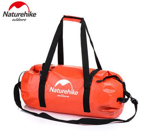 Naturehike Waterproof Bag 40L/60L/90L/120L Dry Bag Strap Storage Bag Outdoor Waterproof Pannier Climbing Cycling Backpacks Trave