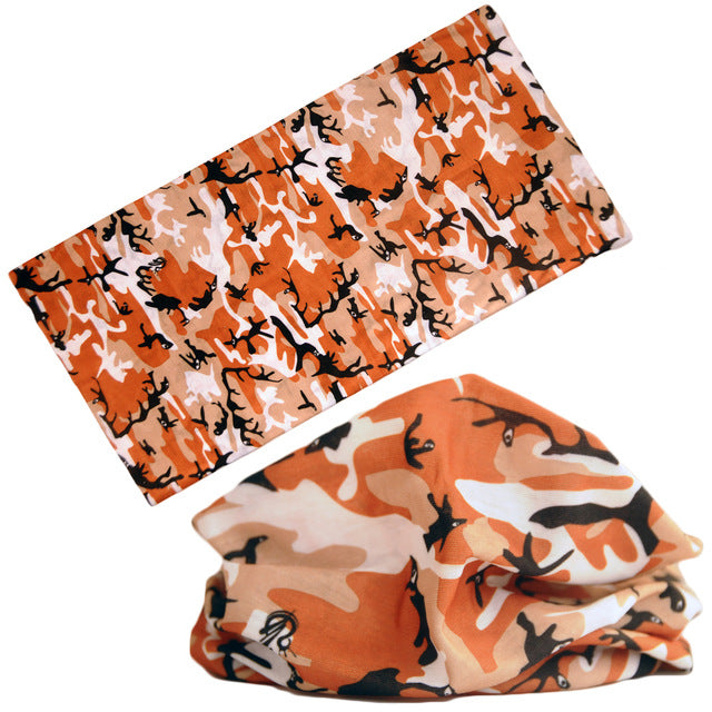 21 Style Camouflage Bicycle Sport Ciclismo Cycling Hiking Bandanas Headwear Bandana Bicycle Ride Headwear Magic Scarf Headband