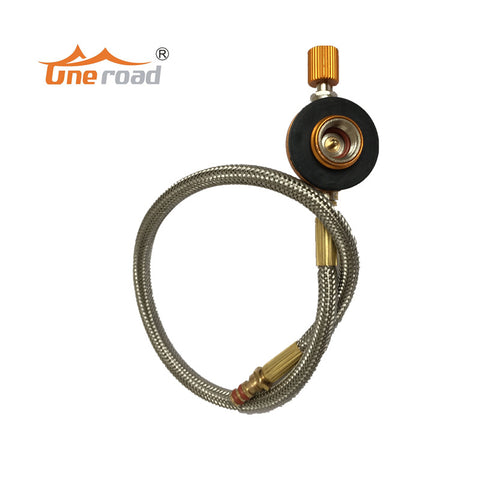 Stove Gas fuel pipe tube for outdoor burners stoves Connecting Pipe Bottle Link Stove Hose with fire power Regulating valves