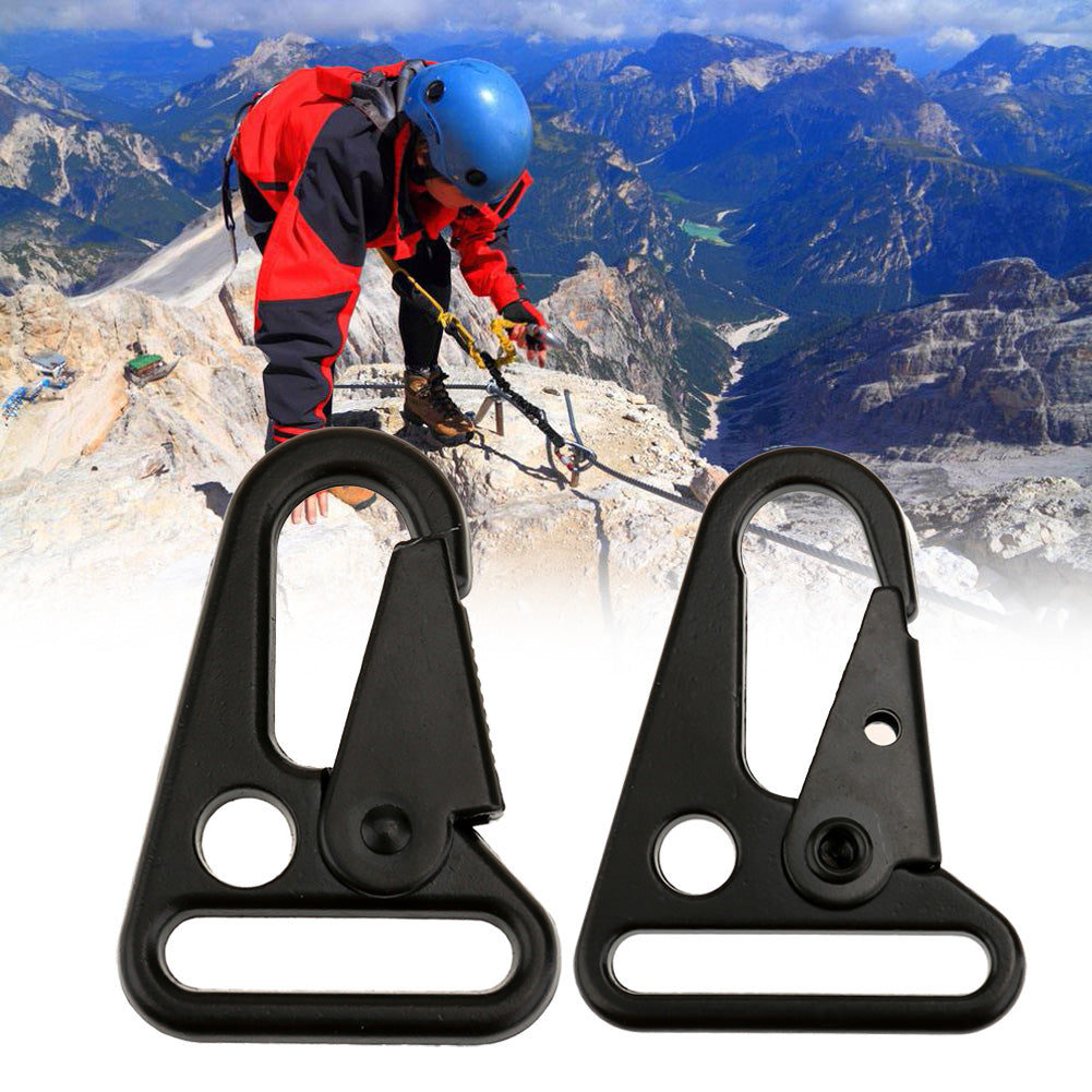 1 pcs Hiking Pocket Hook Backpack Clasp Camping tool Survival Gear Tactical Hook Carabiner Keychain Accessories Outdoor EDC tool