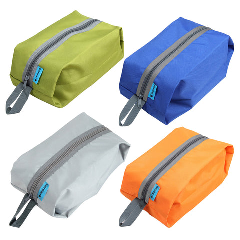 1pcs Outdoor Camping Bag Waterproof Shoes Bags Ultralight Washing Gargle Stuff Travel Storage Bag Travel Kits