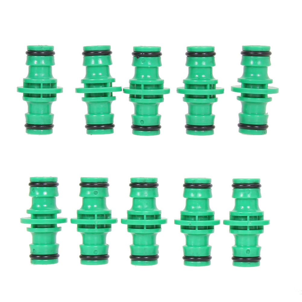 10Pcs/lot Plastic Watering Hose Pipe Fitting Set Connector Joiner Couplers for Garden Plants Lawn Watering Kits Garden Supplies