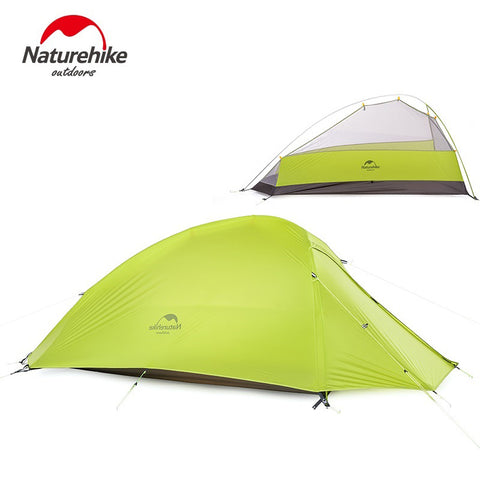 NatureHike 1 Person Tent Double-layer Tent  Camping 4 Seasons Waterproof Tent Outdoor Survival Equipment NH15T001-T