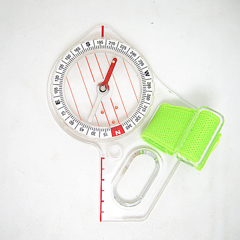 Outdoor Professional Thumb Compass Elite Competition Orienteering Compass Portable Compass Map Scale Compass