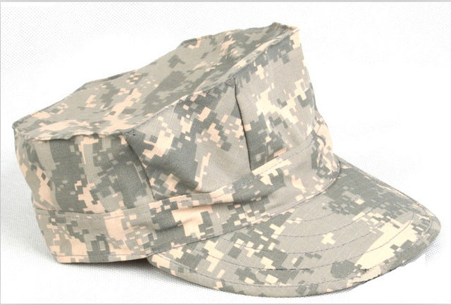 Hiking male hat Summer camping man's Camouflage Tactical hat army Fishing bionic Military cap