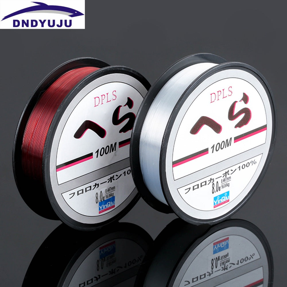 100M Fishing Line Nylon 100M Monofilament Fishing Series Super Strong Japan Monofilament Nylon Fishing Line