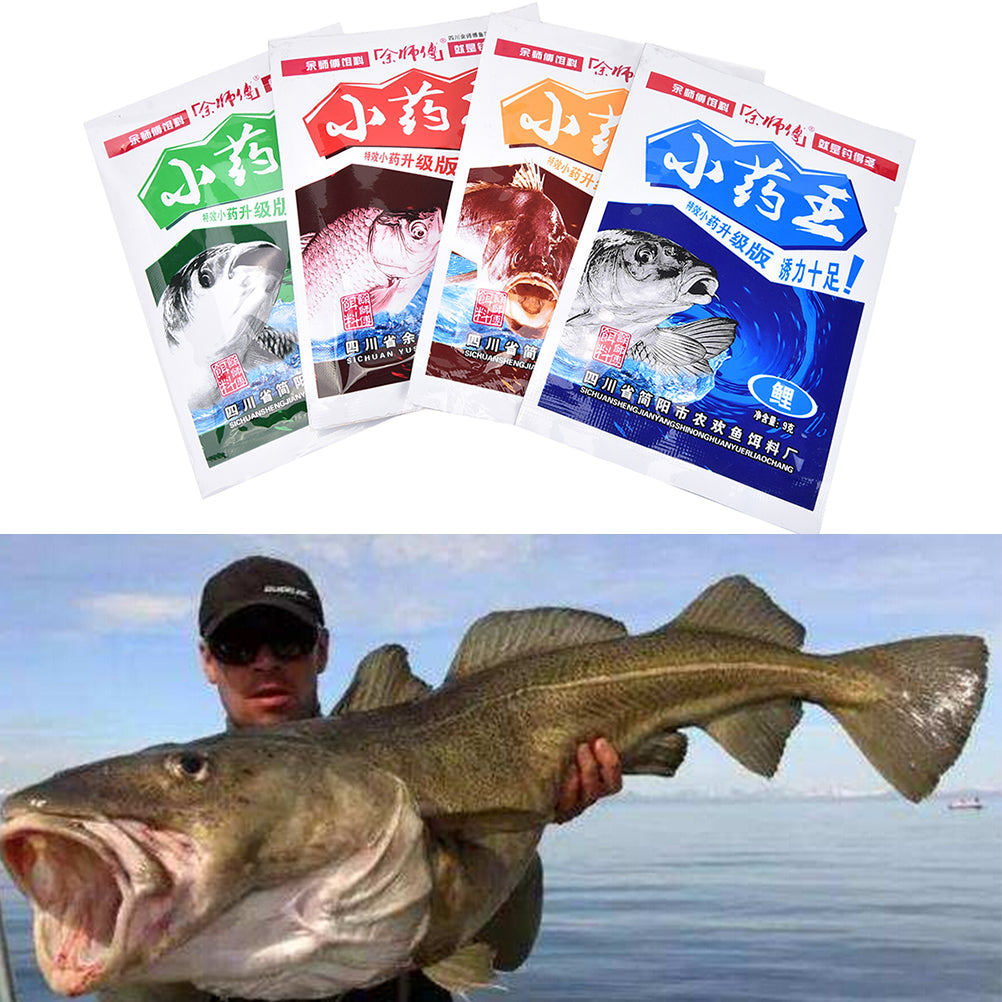 1 Bag 10g Musk Flavor Additive Carp Fishing Groundbait Flavours Fishing Bait Making Scent