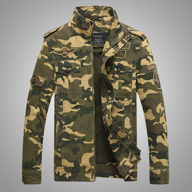 101 Airborne Division Tactical Jackets Mens Spetsnaz Military Camouflage Combat Outerwear Coat Army Bomber Flight Clothes